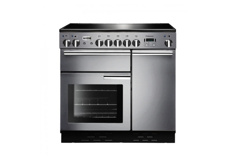 Falcon Professional+ 90cm Induction Range Cooker (Stainless Steel & Chrome)