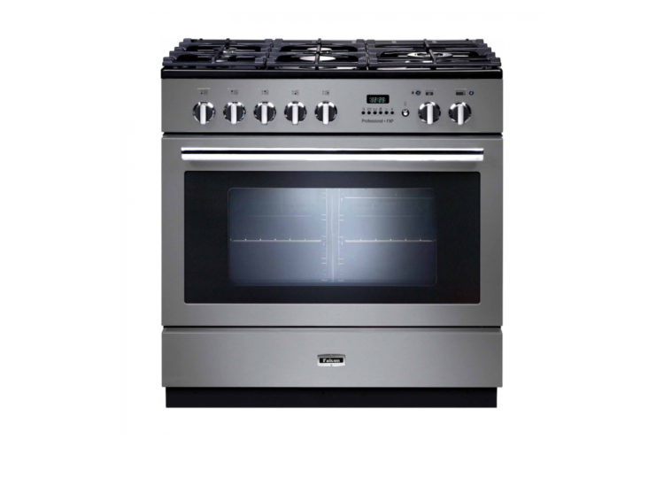 Falcon Professional+ FXP 90cm Dual Fuel Range Cooker (Stainless Steel & Chrome)