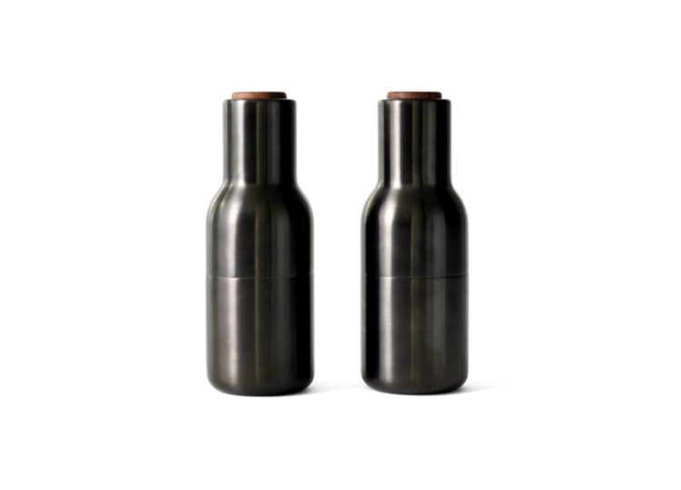 Menu Brassed Bronze Bottle Grinders