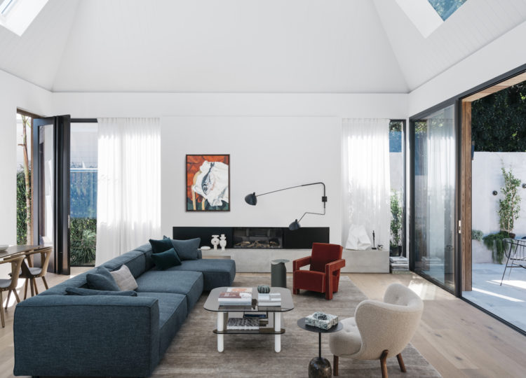 Living | Pacific House Living Room by Penman Brown