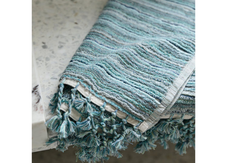 Loom Ocean Stripe Bath Mat