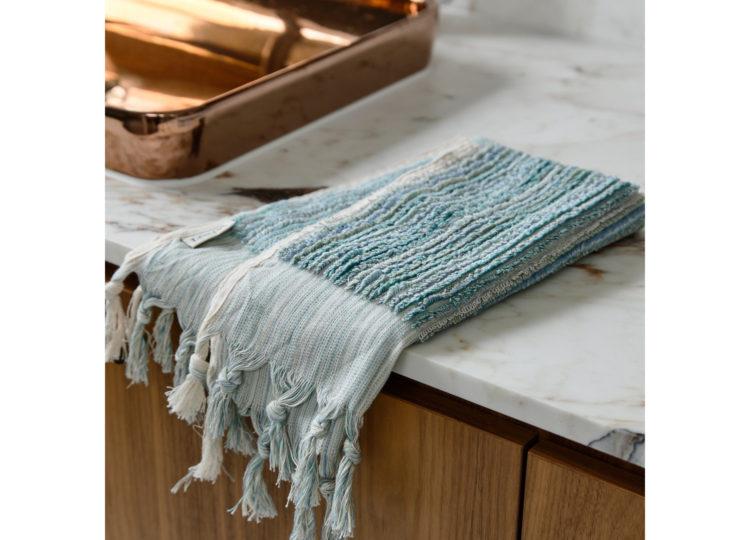 Loom Ocean Stripe Hand Towel