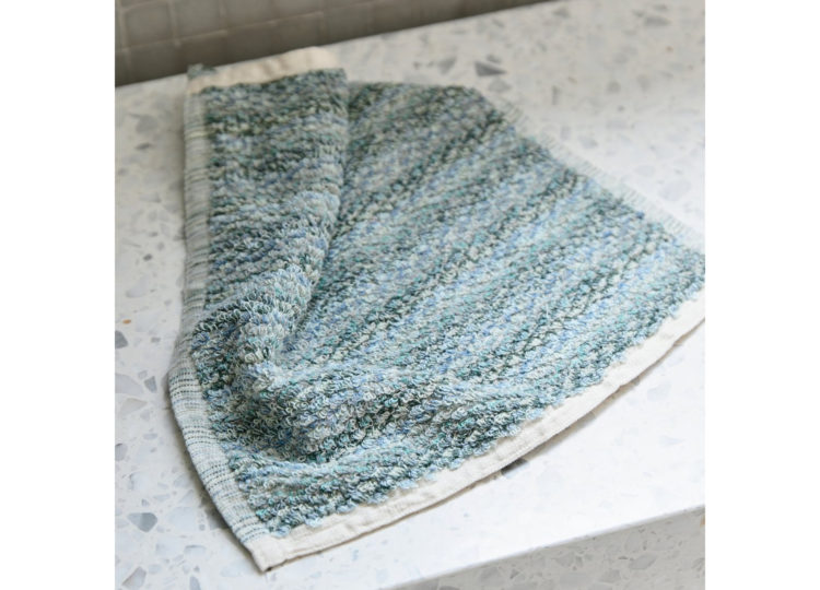 Loom Ocean Wave Face Towel