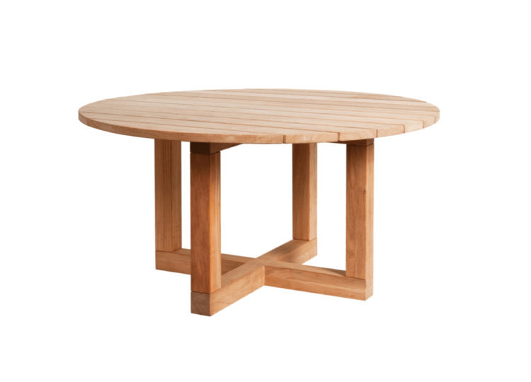 Robert Plumb Chunky Round Dining Table