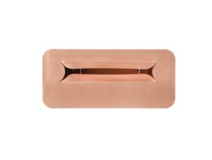 Robert Plumb No38 Copper Letterbox by Luigi Rosselli