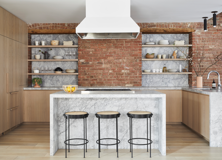 Kitchen | Soho Loft Kitchen by Tina Rich Design