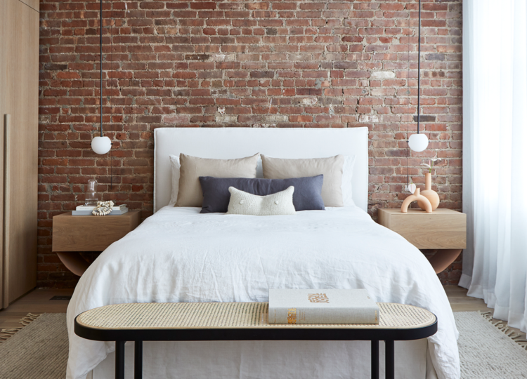 Bedroom | Soho Loft Bedroom by Tina Rich Design