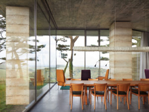 Dining | Remote English Retreat Dining Room by Peter Zumthor's