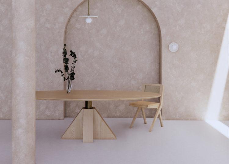 Daniel Boddam M-Oval Table