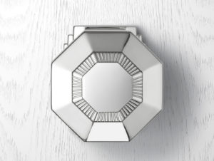 Art Deco – Door Knob on Plate