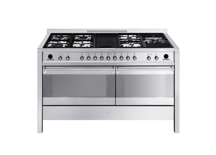 Smeg 150cm Freestanding Thermoseal Gas and Electric Cooker
