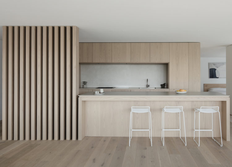 Kitchen | A Warm and Tactile Apartment Reinvention by studioplusthree