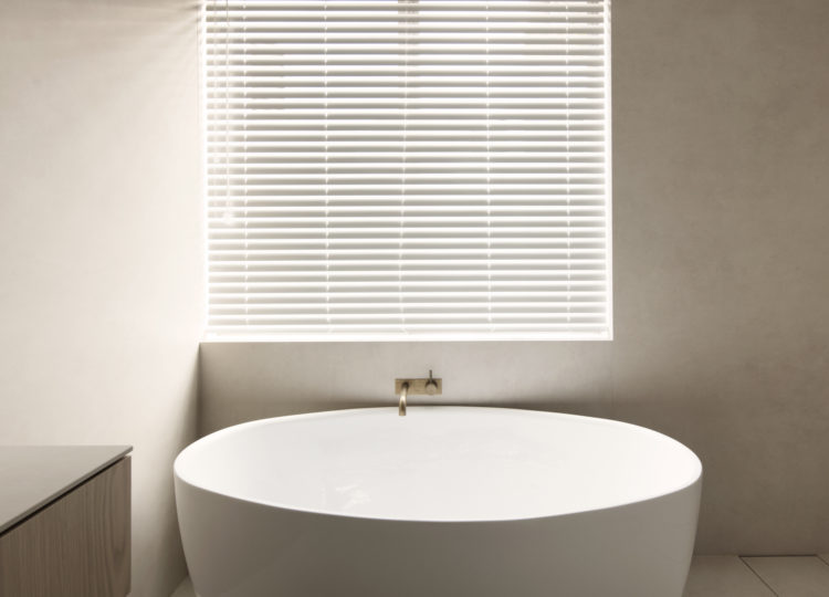 Bathroom | A Warm and Tactile Apartment Reinvention by studioplusthree