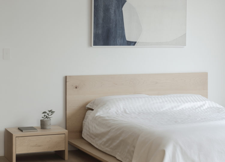 Bedroom | A Warm and Tactile Apartment Reinvention by studioplusthree