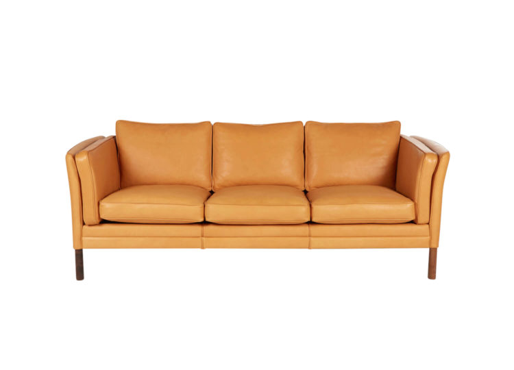 Klassic 3 Seater Sofa Leather