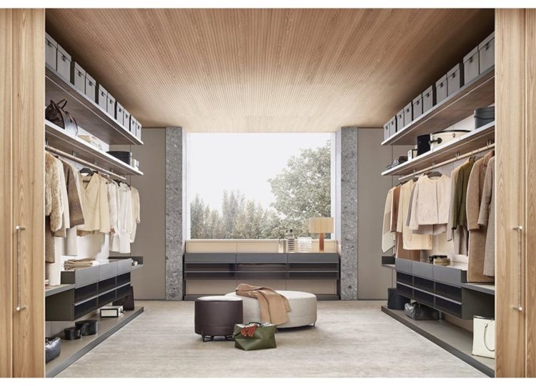 Poliform Ubik Walk-In Closet