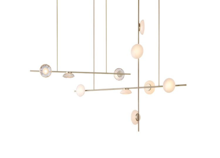 Ross Gardam Ceto Horizontal Chandelier (Double)