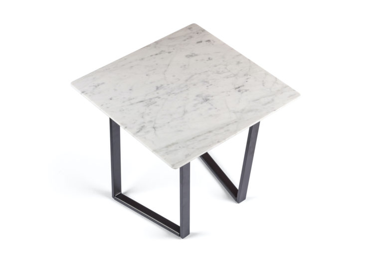 Salvatori Square Dritto Coffee Table (Bianco Carrara)