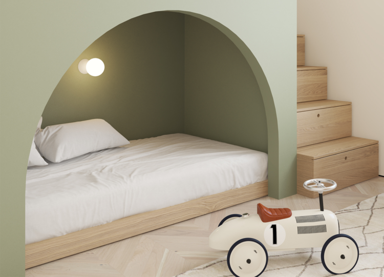 Kids | Copenhagen Apartment Kids Bedroom by Emil Dervish