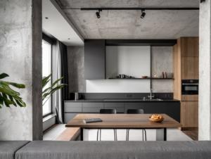 Kitchen | Rybalsky Apartment Kitchen by FILD
