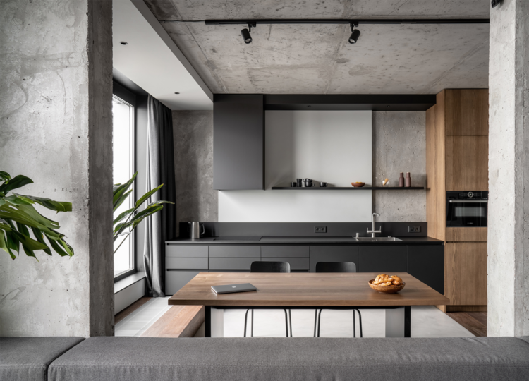 Kitchen | Rybalsky Apartment Kitchen by FILD
