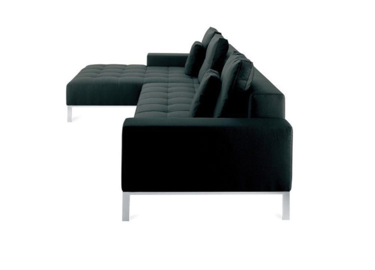 Zanotta Alfa Corner Element Sofa 183W
