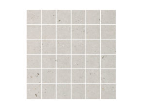 Silver Grain Grey Mosaic