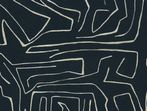 Graffito Fabric – Onyx Beige
