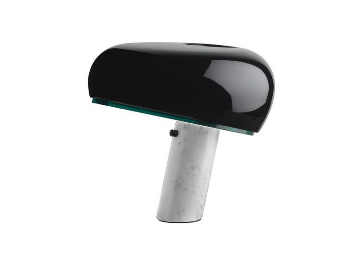 est living flos snoopy table lamp in black 01 750x540 1