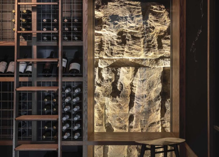 Bar and Cellar | Pacific View Point by Luigi Rosselli Architects and Alwill Interiors
