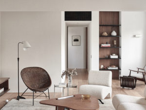 ISS Apartment by Atelier PECLAT + CHOW