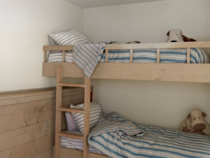 Kids | Shelter Island Home Kids Bedroom by Ochre
