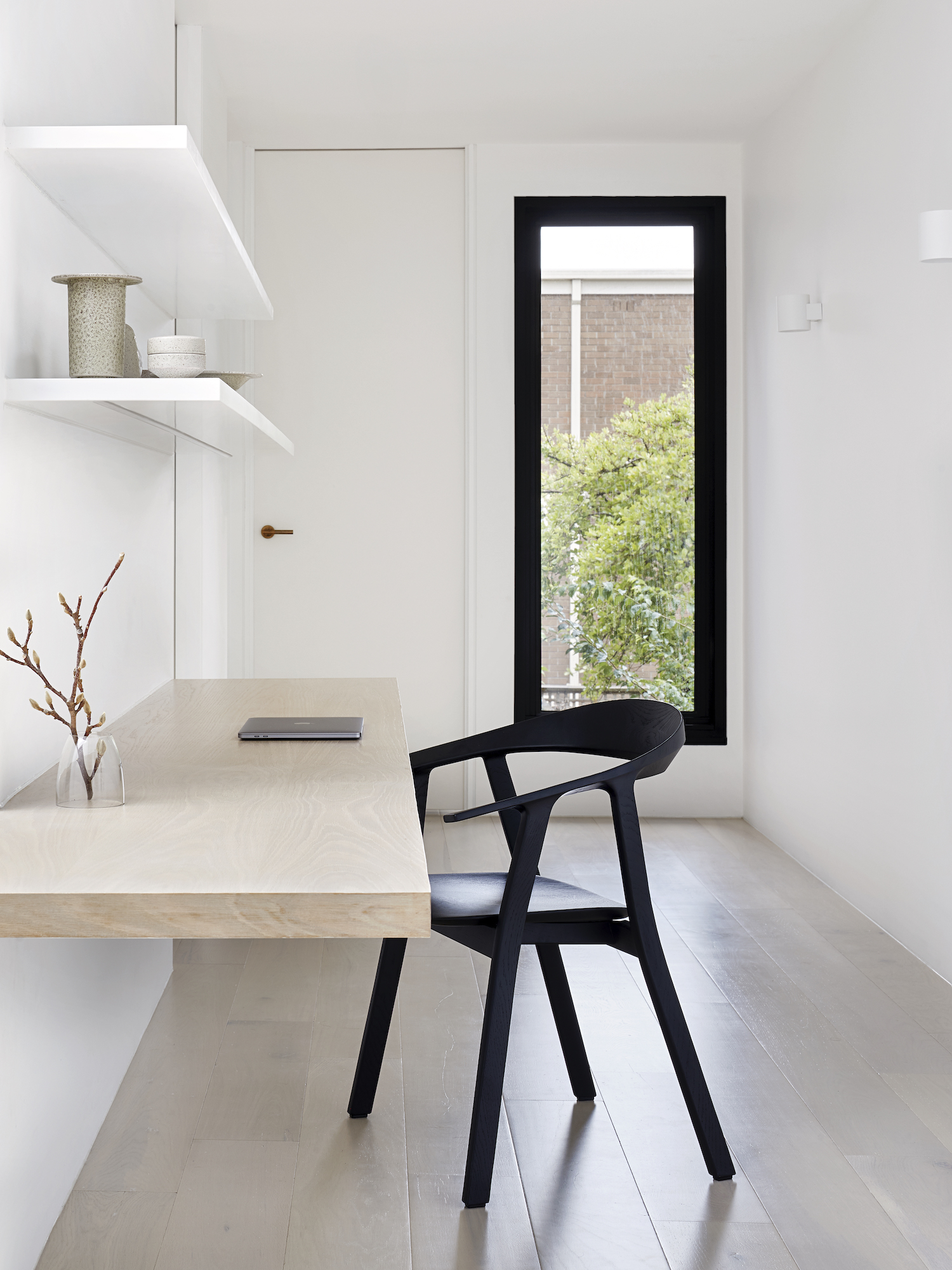 est living winter architecture south yarra townhouse 24