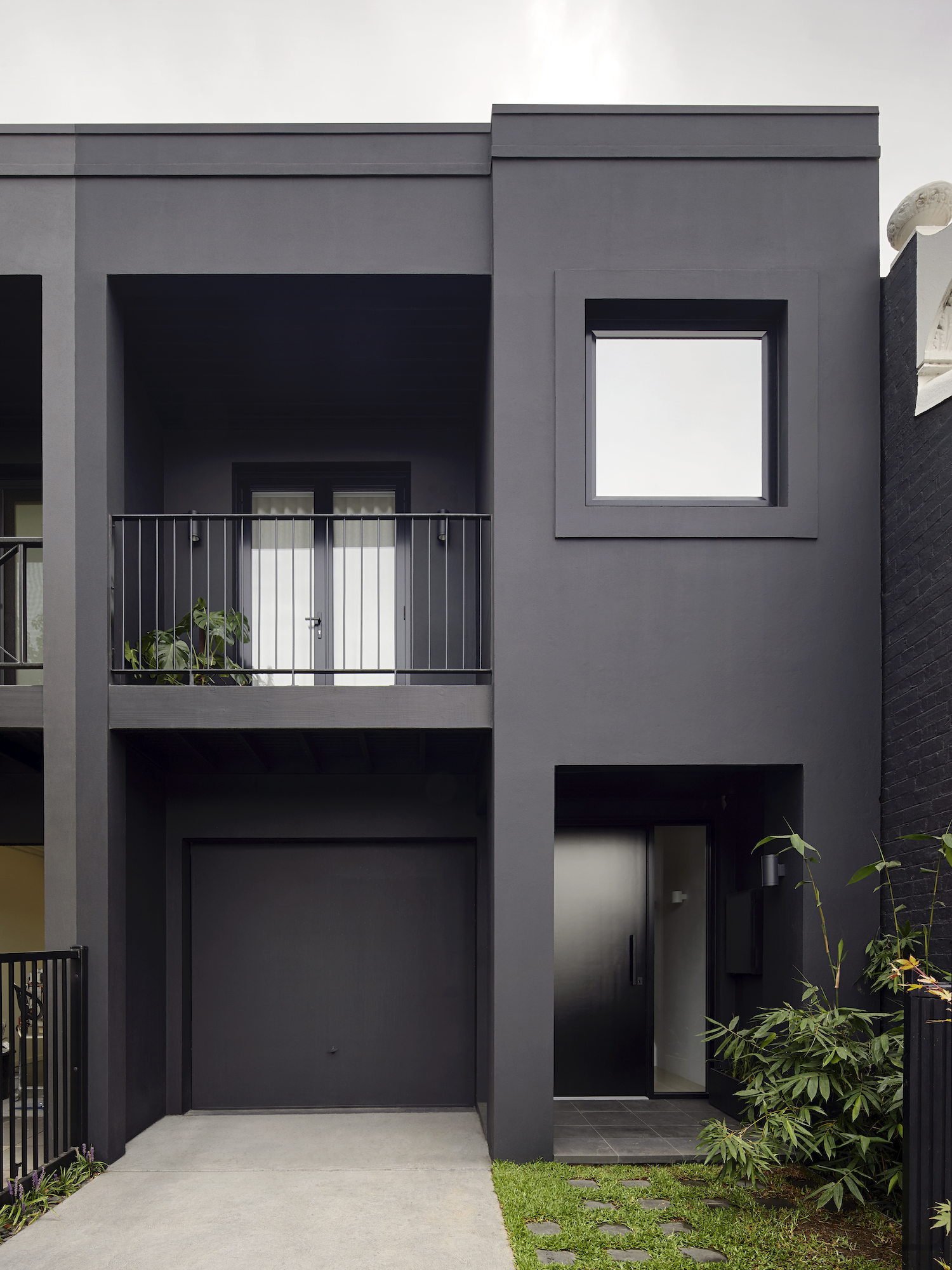 est living winter architecture south yarra townhouse 3