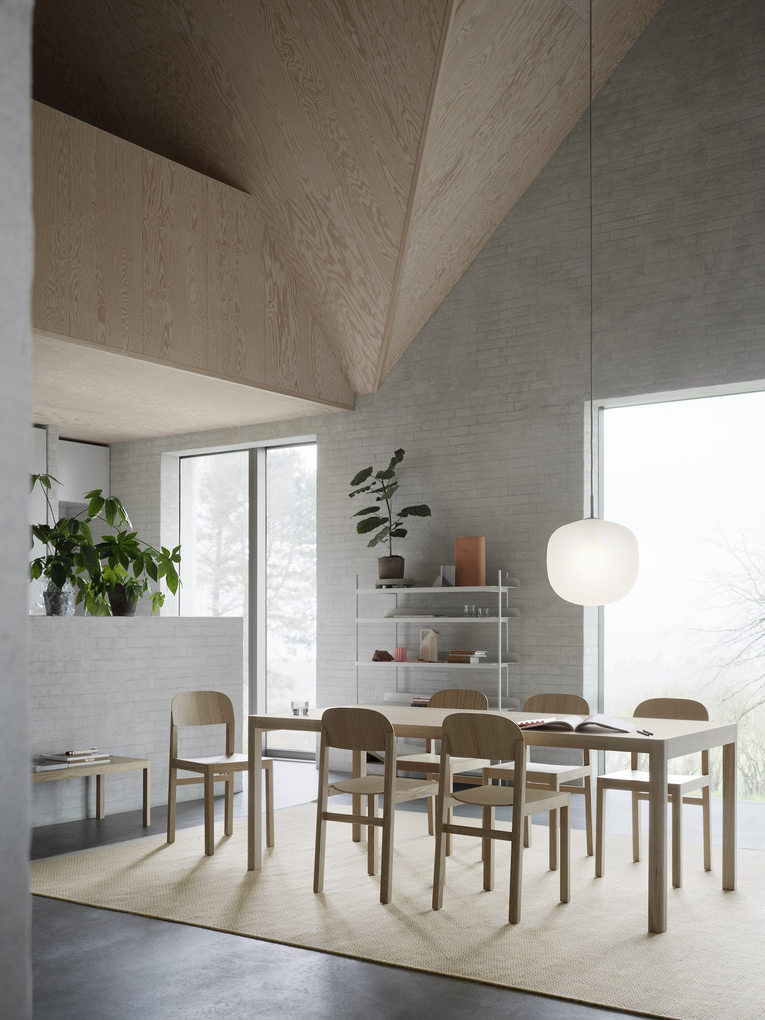 est living workshop dining table cecile manz muuto living edge 1