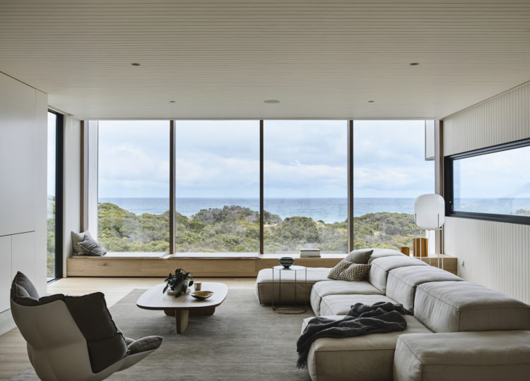 Living | Blairgowrie Beach House Living Room by Studio Tom