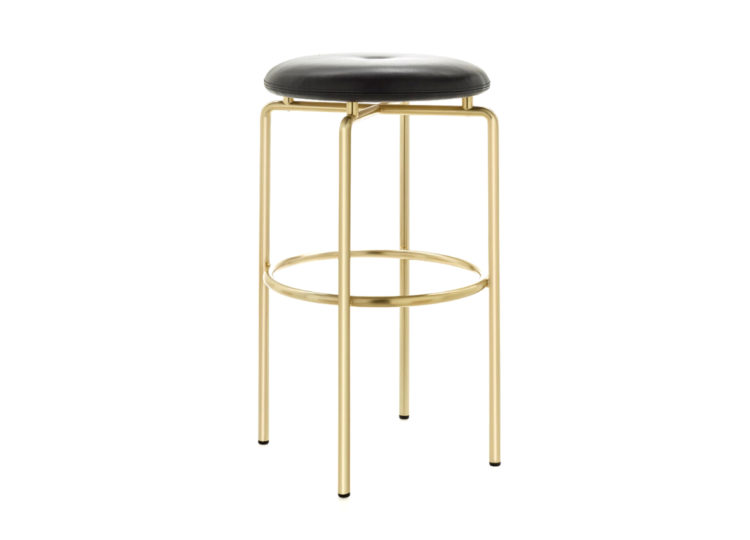 BassamFellows Circular Stool