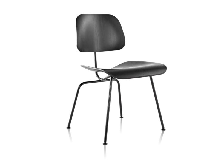 Herman Miller Eames Moulded Plywood Dining Chair – Metal Base