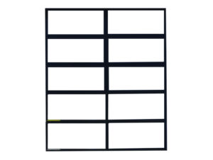 Metro Steel Windows W40 Operable Windows