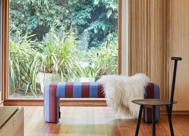 Living | Toorak House Living Room by Melanie Beynon Architecture & Design