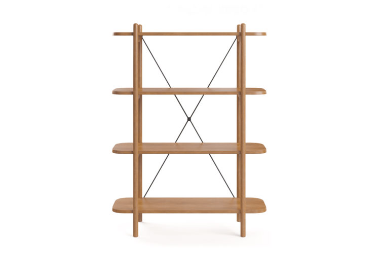 est living brosa dominic narrow bookcase 750x540