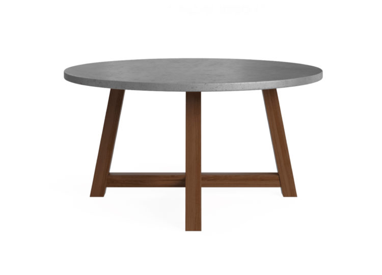 est living brosa lucille concrete dining table 150cm 750x540