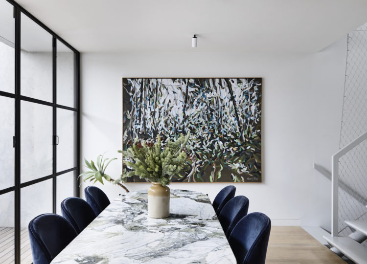Dining | Collingwood Apartment Dining Room by Rob Kennon Architects