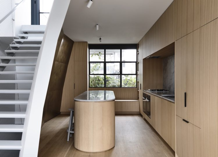 Kitchen | Collingwood Apartment Kitchen by Rob Kennon Architects