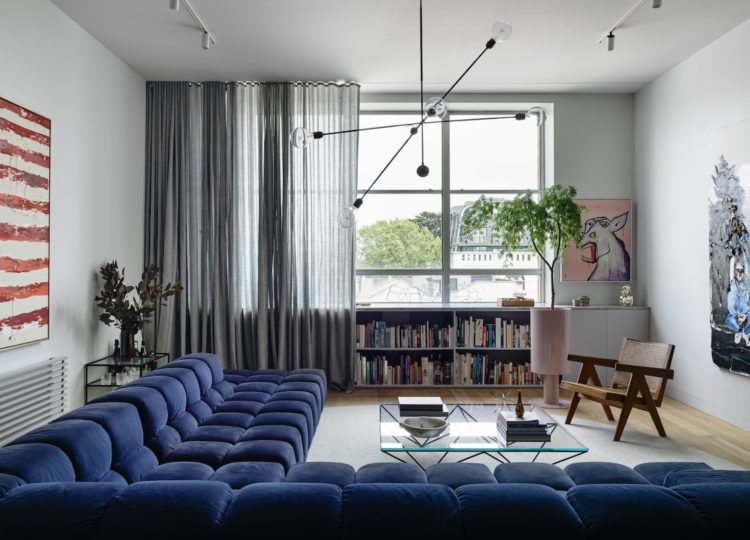 Living | Collingwood Apartment Living Room by Rob Kennon Architects
