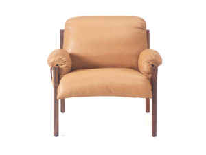 BassamFellows Sling Club Chair