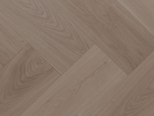 Mafi Herringbone Oak Brushed Grey Oil