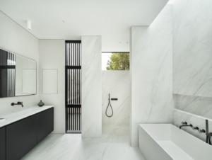 Bathroom 1 | A Modern Classic Victorian by Michael Kramer