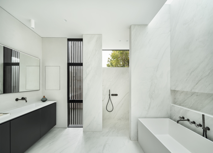 Bathroom 1 | A Modern Classic Victorian by Michael Kramer