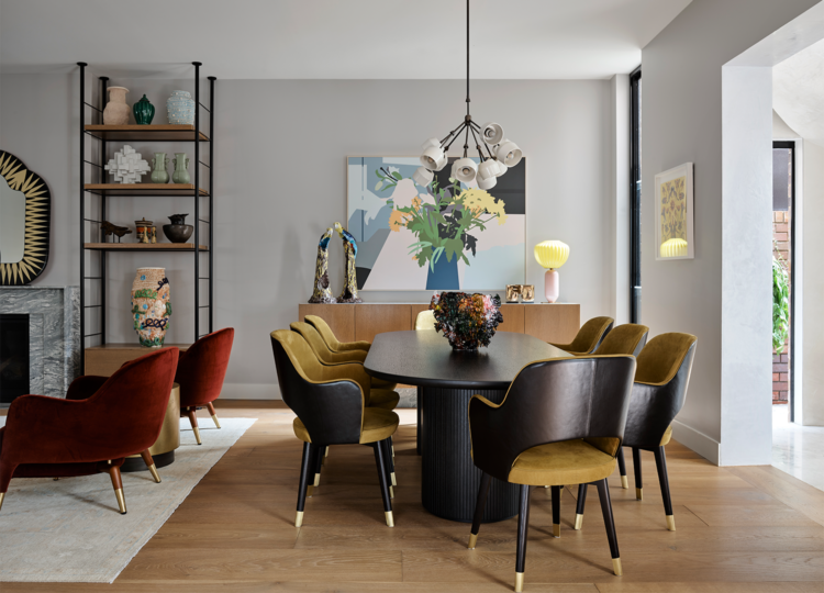 Dining | Potts Point Dining Room by Flack Studio